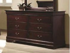 Coaster Home Furnishings 203973 Traditional Dresser, Cherry  http://www.furnituressale.com/coaster-home-furnishings-203973-traditional-dresser-cherry/