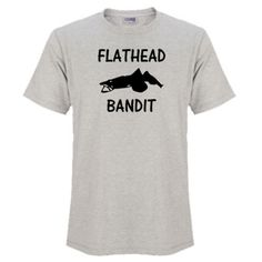 Do you love catching Flathead? Then tell the World, Wear it, Share it. The Fishing Bandit - T Shirts for Fisher Folk Here is the link to our store - https://thefishingbandit.com/ A quality 100% combed cotton t-shirt. The combed cotton gives that soft to touch feel. Wear it with pride everyday; on the street, beach or anywhere you like. Available in - White, Black, Hot Pink, Royal Blue, Grey Marle Check it Out... #fishing #tshirts #adventure #apparel
