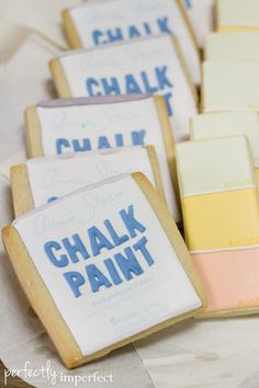 Perfectly Imperfect Book Launch Party | The $50 Home Makeover | Shaunna West | Chalk Paint® & paint chip cookies