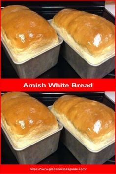 Amish White Bread - Daily World Cuisine Recipes Amish White Bread, Whats Gaby Cooking, Pancake Cake, Pan Bread, Daily Meals, What To Cook, Meal Ideas, Tasty, Homemade