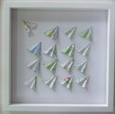 Paper Planes - Maps - Large