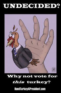 Hand Turkey #4  ©Carolyn Watson Dubisch