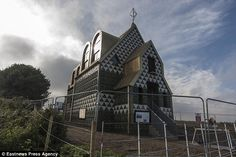The cottage - officially named 'A House for Essex' - is set to open to holidaymakers in th...