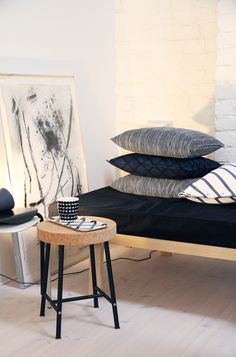 Summer Cabins, Nordic Design, Scandinavian Home, Marimekko, Decoration, Sweet Home, Living Room, Pillows, Interior Design