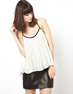 ASOS Cami with Pleat Detail