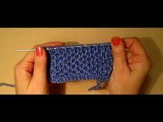 УЗОР СОТЫ! ВЯЗАНИЕ СПИЦАМИ!Вязание для начинающих.knitting Распространенная вязка спицами - YouTube