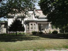 908 North Main - Built 1875 for Bennet & Harriet Humiston ~ Pontiac, Illinois