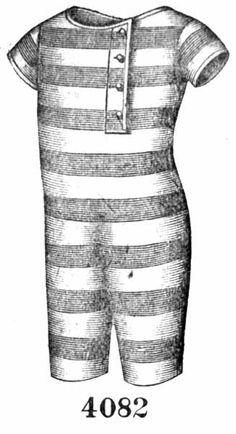 Vintage Victorian: Bathing Costumes