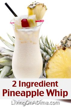 Easy Pineapple Whip Recipe - 12 Easy 2 Ingredient Homemade Ice Cream Recipes Try these easy 2 ingredient homemade ice cream recipes you can make at home without a machine! You're going to love how easy, creamy and delicious they are! Easy Homemade Ice Cream, Easy Ice Cream Recipe, Keto Ice Cream, Healthy Ice Cream, Ice Cream Recipes, Cream Cream, Ice Cream Desserts, Frozen Desserts, Recipes