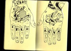 dallas green's hand tattoo