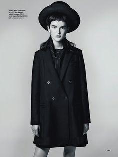 .LESS.IS. MORE. - .GLAMOUR.UK.  - http://fashionfornuri.blogspot.com/2014/10/lessis-more.html