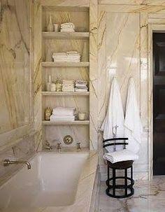 Upstairs Master bath niche French Home Decor, Gothic Home Decor, Luxury Homes Interior, Home Interior, Living Room Art Decor Ideas, Cheap Dorm Decor, Home Decor Sale, Interior House Colors, Traditional Bathroom