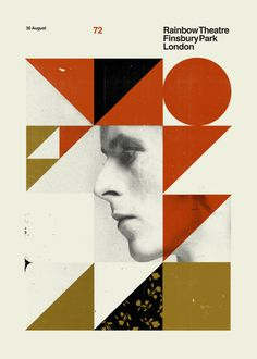 Creative Poster, David, Bowie, Concepcion, and Studio image ideas & inspiration on Designspiration The Royal Tenenbaums, Poster Art, Poster Ideas, Print Poster, London Clubs, Art Thou, Silk Screen Printing, Bauhaus, Magazine Design