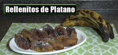 Rellenitos de Platano / Receta Guatemalteca / Casayfamiliatv.com