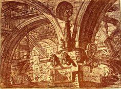 1745 Carceri d'invenzione Piranesi r