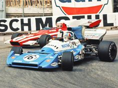 1972, Matra MS120C, Matra V12, Monaco Chris Amon