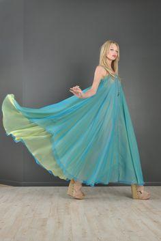 Pauline Trigere for Formfit 2-Tone Gown | BUSTOWN MODERN #vegan #dress