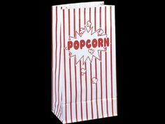 10 Sacs papier Pop corn