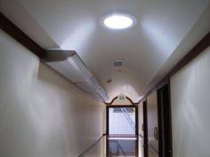 Iluminacion a traves de ductos por medio del Sol