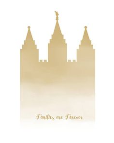 Families Are Forever  LDS Salt Lake Temple  8x10 Digital Lds Temple Pictures, Salt Lake Temple, Families Are Forever, Lds Temples, Latter Day Saints, Watercolor Print, Jesus Christ, Wallpapers, Digital