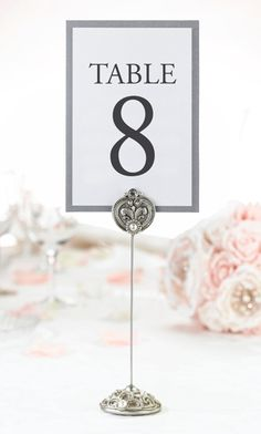Jeweled Table Markers