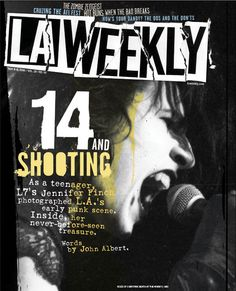 LA Weekly graphic design magazine cover by Coldie