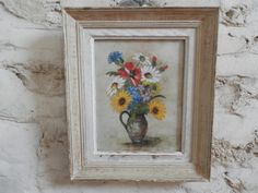 Antique French Oil Painting. Vintage Oil by AngelFrenchAntiques