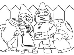 gnomeo and juliet coloring pages gnomeo coloring pages