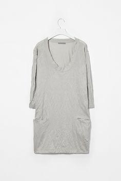 cotton crinkled dress