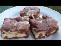 Dvoubarevná tvarohová buchta - recept - YouTube Tiramisu, Food And Drink, Ethnic Recipes, Youtube, Youtubers, Youtube Movies, Tiramisu Cake