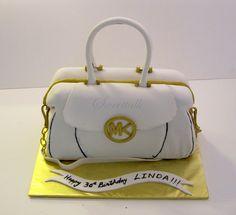 Micheal Kors Handbag Cake !!! - Micheal Kors Purse cake, Handbag cake, 3D cakes, Custom cakes, Specialty cakes, Michael Kors Cake, Sweettalk Los Angeles, CA Custom cakes by Sweettalk