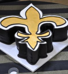 New Orleans Saints party cake!