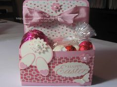 "Stampin' Up! Australia - Sue Mitchell: Stampin' Up! 3D Easter Gift Ideas - without the ""chocolate overload"""