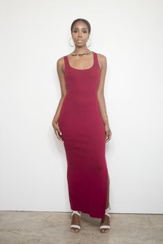 Ruby Woo Maxi Dress