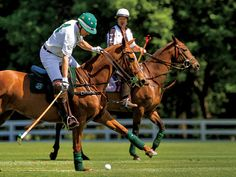 Nacho Figueras and Magoo Laprida played last year's Piaget Hamptons Cup Polo Tournament benefiting New York's Robin Hood Foundation.