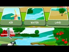 Children's: Earth's Resources - Air, Water, Land. How to Save the Earth's Resources - YouTube