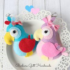 Barbara Handmade …#felt #feltwork – seen on Pinterest, loved and repined by Craft-seller.com.