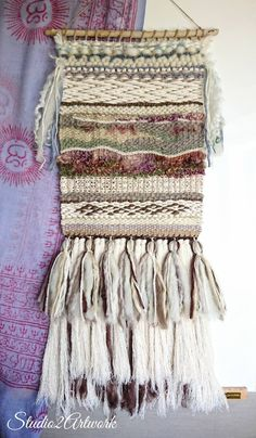 9 ideas for beautiful natural wallart - Nature Holds the Key Clothes Pegs, Best Friend Wedding, Silk Plants, Tapestry Weaving, Etsy Uk, Recycled Wood, Hand Weaving, Key, Wall Art