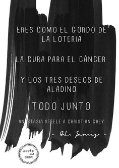 Fifty Shades of Grey. Christian Grey. Anastasia Steele. Love. Amor. Felicidad. Happiness. Pasion. Passion. Lucky girl. Cincuenta Sombras de Grey. E.L.James. Quote. Frase. Forever. 50 Sombras. Graphic Design. Photoshop. Diseño Grafico. Diseño Editorial. Fanfiction. Quote. Books. Libros. Lectura. Frase.
