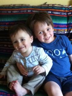 My beautiful smiling children make me #jbhappy @Joseph Cohen Jonge Cohen Browns