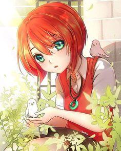 Chise Hatori by DumplingYumYum Kawaii Anime Girl, Anime Art Girl, Manga Girl, Anime Red Hair, Art Anime Fille, Chibi, Chise Hatori, Sakura E Sasuke, Snow White With The Red Hair