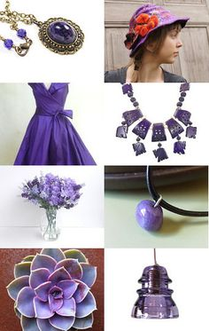 Purple Delights by Val Swanson on Etsy--Pinned with TreasuryPin.com