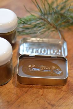 Pine salve is a traditional drawing salve, that draws infections, slivers, and inflammation out of the body. It reduces pain and swelling, helping the body heal itself. One way it works is by increasing peripheral circulation by counter irritation. While you could make pure pine salve with just pine oleoresin, beeswax, and oil, this recipe uses infused oils to work synergistically reducing pain and inflammation.