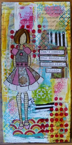 Pretty Girl Collage by PerkyNihilist on Etsy, $45.00