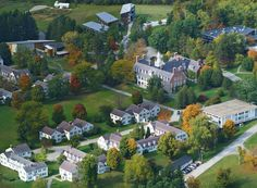 This is my college, Bennington in Vermont.  It's a magical place, I dare say there is no where on Earth quite like it.  There are probably a lot of people out there that feel that way about their alma-matter, but Bennington really is this fairytale of a place tucked into the hills of Vermont.  I've yet to met anyone who's college experience was similar to that of a typical Bennington student.