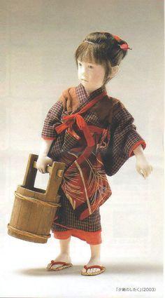 (与 勇輝(あたえ ゆうき)展 健ちゃん Hola! まいど!/ウェブリブログから) Japanese Doll, Japanese Art, Asian Doll, Ichimatsu, Old Dolls, Doll Maker, Collector Dolls, Japanese Culture, Beautiful Dolls