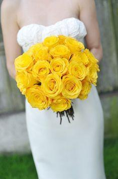 """春を先取り♡少女っぽい""""黄色のバラ""""のブーケで明るくHappyな ..."""