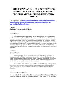 17 best solution manual 3 images on pinterest download solution manual for accounting information systems a business process approach 2nd edition fandeluxe Images