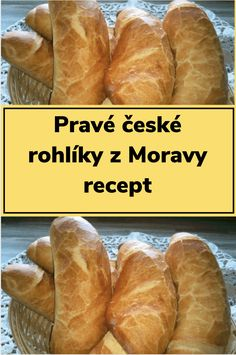 Czech Recipes, How Sweet Eats, Hot Dog Buns, Food Inspiration, Ham, Bakery, Clean Eating, Croissant, Food Porn