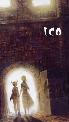ICO - One of the greatest games of all time Nostalgic Art, Last Shadow, Child Of Light, Best Games, Manga Art, Overwatch, Homework, Art Direction, Game Art